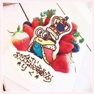 torteのミニオンケーキ