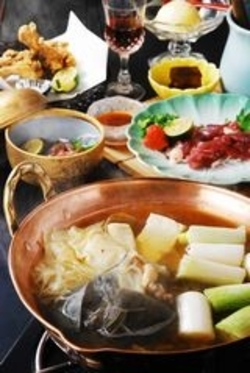 身も心も美しく国産すっぽん料理!美味しいですよコース、7千円、1万円、1万5千円