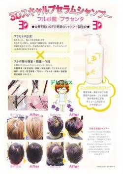 綺麗な髪の毛は頭皮から本気の育毛スパ ─ 3D SCALP CLEANSING ─  現在モニター大募集中!