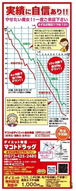 4/25号ぱどナビマガジンに掲載されています
